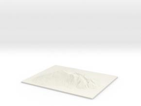 "Haleakala, 2.5x, 8"" in White Natural Versatile Plastic"