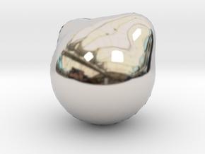 5892 in Rhodium Plated Brass