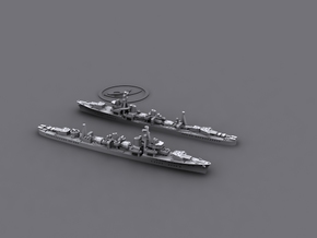 1/3000 IJN DD Shiratsuyu (4+6) in Smooth Fine Detail Plastic