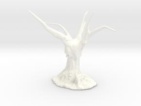 Totem Tree 003 in White Processed Versatile Plastic