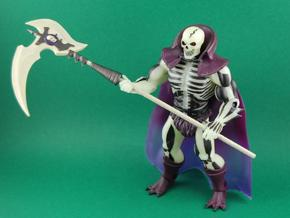 Scythe of Terror in White Strong & Flexible Polished