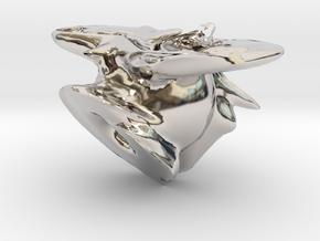 9459 in Rhodium Plated Brass