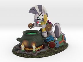 Sidekicks #5 - Zecora in Full Color Sandstone
