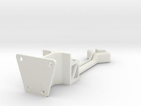 X8R Antenna High Mount in White Natural Versatile Plastic