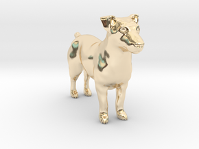 Jack Russell Terrier - Small in 14K Yellow Gold