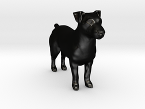 Jack Russell Terrier - Small in Matte Black Steel