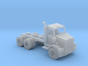 Water Truck Semi Z Scale in Smooth Fine Detail Plastic