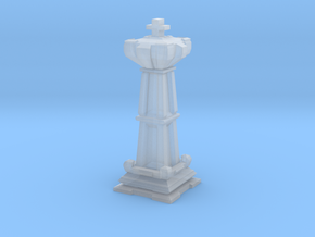 King - Mini Chess Piece in Smooth Fine Detail Plastic