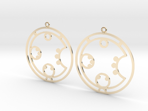 Carol - Earrings - Series 1 in 14K Yellow Gold