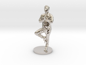 Hendo Standing special collectors edition. in Rhodium Plated Brass