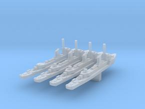 Norwegian Sleipner class (4 ships) 1:1800 in Smooth Fine Detail Plastic