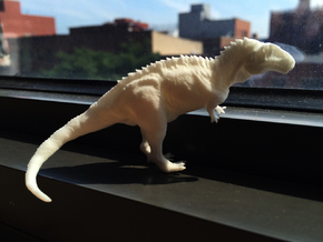 Dino in White Natural Versatile Plastic