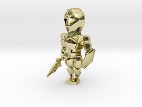 Hero in 18k Gold Plated Brass