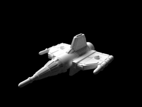 Alliance Pursuit Frigate in White Natural Versatile Plastic: Small