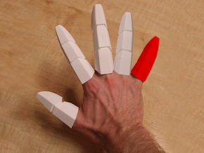 Iron Man Pinky Finger in White Strong & Flexible