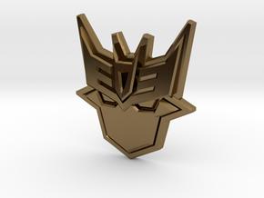 Doomie Badge of Doom in Polished Bronze