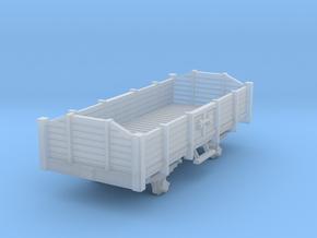 Carro aperto - open wagon H0m in Smoothest Fine Detail Plastic