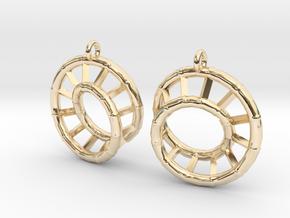 Ear-Rings-03 in 14K Yellow Gold