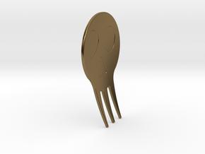 Spoo-Rk in Polished Bronze