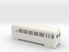 009 articulated railcar 5 window driving trailer in White Natural Versatile Plastic