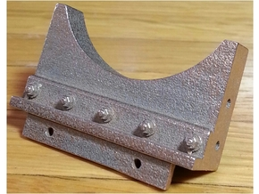 7/8 Scale boiler mount for a baldwin 0-4-2 or 0 Li in Stainless Steel