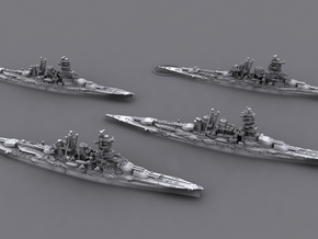 48JN05 IJN BB Kongo Class in Frosted Ultra Detail