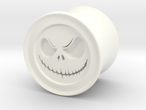 "Skelly 1/2"" (12.7mm) Plugs in White Processed Versatile Plastic"