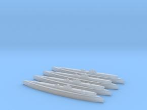 USS Gudgeon (Tambor class) 1/1800 x4 in Smooth Fine Detail Plastic
