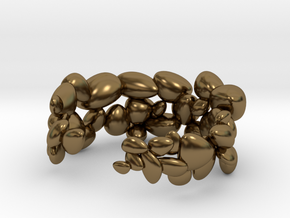 BeachStones Ring - Size 8 in Polished Bronze