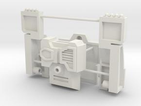 Customatron Carformer - Erebus Add on Kit in White Natural Versatile Plastic