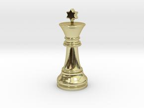 Single Chess King Star Big | Timur Prince Vizir in 18k Gold