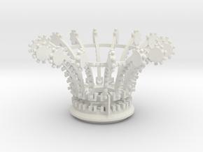 Yoyotopandbanjoslargeturbos529Oscale in White Natural Versatile Plastic