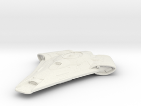 Uss Wallace in White Natural Versatile Plastic