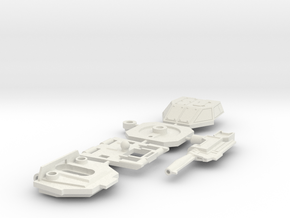 Brawl - Chest (Set 2 of 5) in White Strong & Flexible