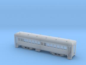 Assembled Nn3 Brill Trailer Coach in Smoothest Fine Detail Plastic