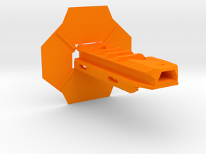 JSPB AttachAnyting-M(NERF MOD) in Orange Processed Versatile Plastic