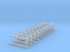 Monitoren Ziegler 10 stuks 1:50 in Smooth Fine Detail Plastic
