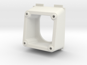 QAV250 FPV Camera Mount (PZ0420M, 10 degrees) in White Strong & Flexible