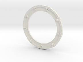 Stargate Simple in White Natural Versatile Plastic