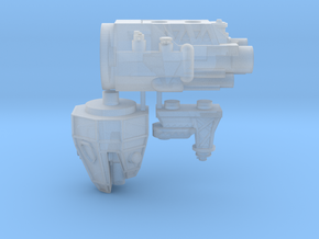 Space Brutes Test Frigate in Smooth Fine Detail Plastic