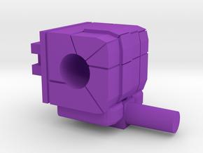 Monstructor Bristleback Right Hand in Purple Processed Versatile Plastic