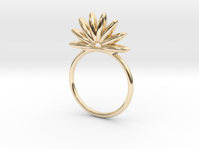 Demi Flower Ring in 14K Yellow Gold