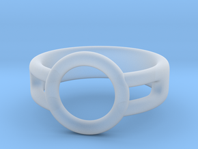 Ring Holder in Smooth Fine Detail Plastic
