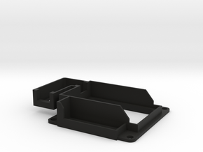 Xaircraft MiniX Mount (+OSD and USB) in Black Natural Versatile Plastic