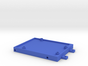 Arduino mounting-plate in Blue Strong & Flexible Polished