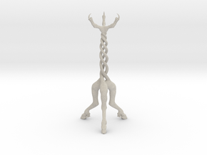 Gothic Candelabra ~ 300mm tall in Natural Sandstone