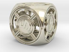 UFO D6 in 14k White Gold