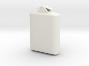 The Tic-Tac Holder (thing) in White Natural Versatile Plastic