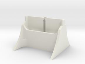 S5 Phone Hub in White Natural Versatile Plastic