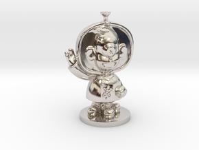 招き猫-メルト(Maneki Mel) in Platinum